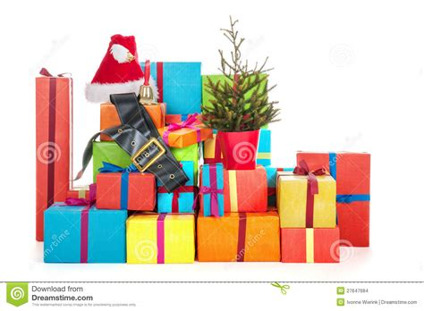 many christmas presents stock images image 27647684