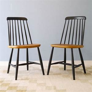 Chaise Bois Vintage : chaises design scandinave bois la maison retro ~ Teatrodelosmanantiales.com Idées de Décoration