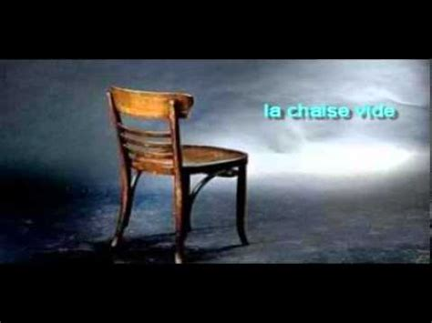 une chaise vide resume une chaise vide images