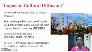 Effects of Migr... Cultural Diffusion