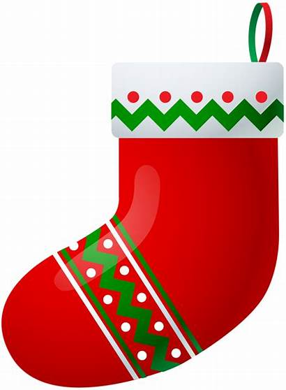 Stocking Christmas Clipart Clip Stockings Transparent Yopriceville