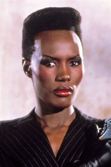 Iconic 80s Jamaican Supermodel, Grace Jones : pics