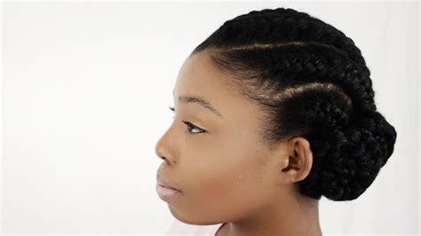 How To Do Goddess Braids With Weave Extensions On Natural
