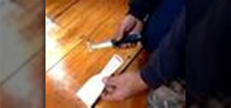 How to Fill gaps in a wood floor « Construction & Repair