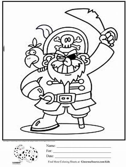 Pirate Coloring Pages Pirates Printable Treasure Chest