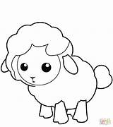 Lamb Sheep Coloring Colorare Imagenes Owca Disegni Drukuj sketch template