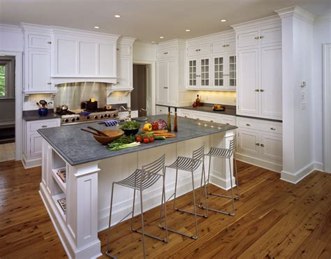 Custom Kitchen Island Cabinets With Seating In Wilbraham