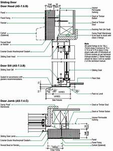 Sliding Door Head Detail Detail Drawings Pinterest