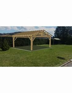 Abri De Voiture En Bois : abri de voiture bois en kit grande surface ~ Melissatoandfro.com Idées de Décoration