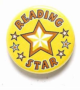 Reading Star Pin Badge   School Star & Other Pin Badges ...