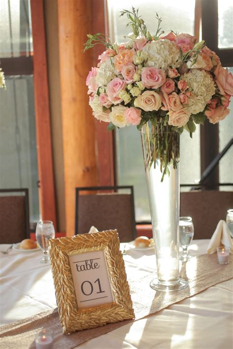 rustic elegant pink  gold wedding   detail