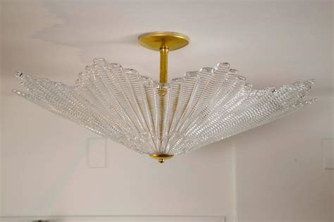 shaped light fixture large murano shaped ceiling fixture for at 1stdibs