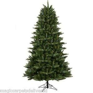 ge freeh cut norweigian artificial tree clearance 7 5 ge just cut artificial tree 400 color change led