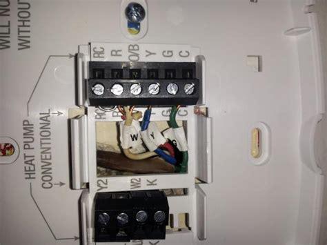 honeywell rth wi fi wiring  doityourselfcom