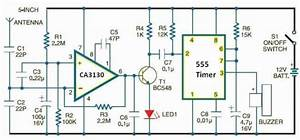 Cell Phone Detector Circuit Diagram