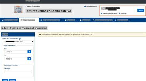 cassetto fiscale login www bellacopia fe it attenzione alle fatture passive