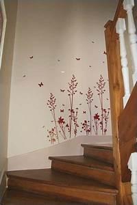 Decoration Murale Montee Escalier : d coration de cage d escalier deco cage d escalier ~ Melissatoandfro.com Idées de Décoration