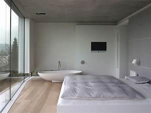 Freistehende Badewanne Im Schlafzimmer : haus t schlafzimmer mit freistehender badewanne ~ Bigdaddyawards.com Haus und Dekorationen