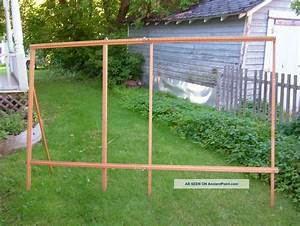 Woodworking Finishing Tools, Vintage Wooden Quilt Rack