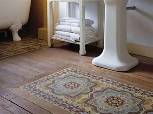 Faience Carreaux De Ciment : le carreau de ciment dans la salle de bain ~ Premium-room.com Idées de Décoration