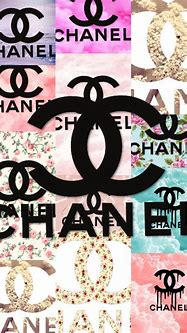 Chanel Collage Wallpaper by Kierra Nicole   WHI