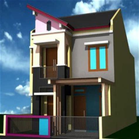 denah rumah  lantai model  denah rumah   lantai