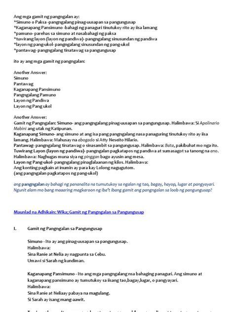 worksheets for grade 2 pang angkop worksheet exle
