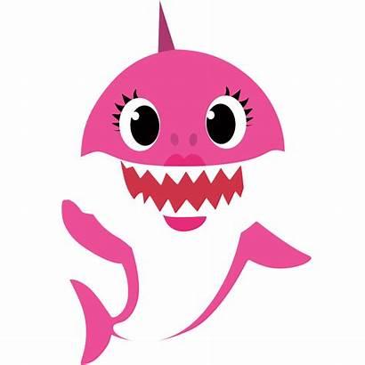 Shark Mama Clipart Babyshark Birthday Daddyshark Svg