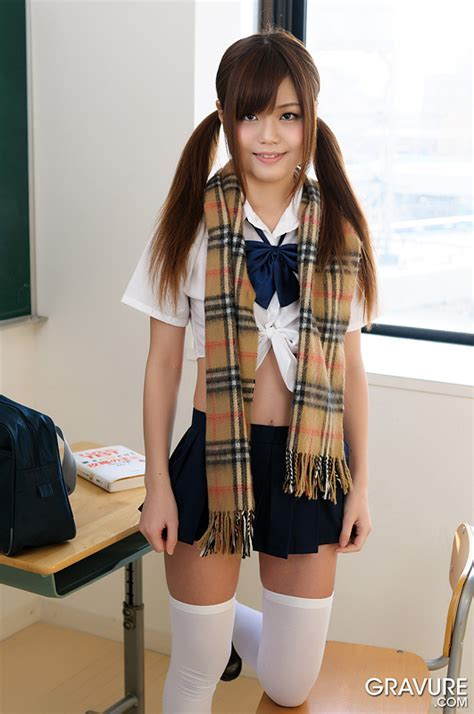 Japanese Girl Nao Shiraishi Getting Naked In The Classroom