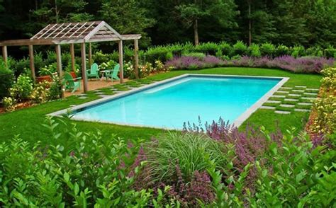 Landscape Design Swimming Pool  Interior Design Ideas