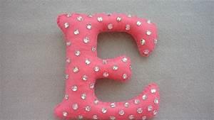 Make a bright and glamorous felt letter diy crafts for Felt letter sign