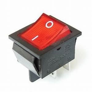 Aliexpress.com : Buy 2Pcs/Lot Red 4 Pin Light On/off Boat ...