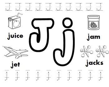 letter j worksheets by kindergarten swag teachers pay 807 | original 3252769 1
