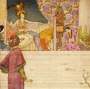 Florence Anderson and 1001 Arabian Nights 1927 Art Nouveau ...