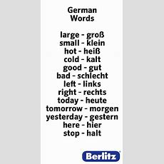 German Words  Learning German  Pinterest  Language, Survival And Lodges