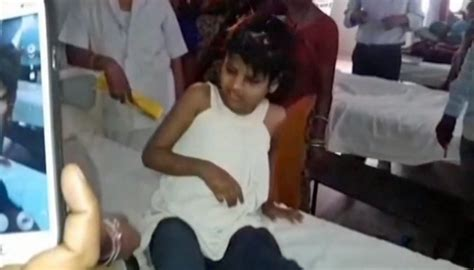 Indian girl found after years living with monkeys in ...