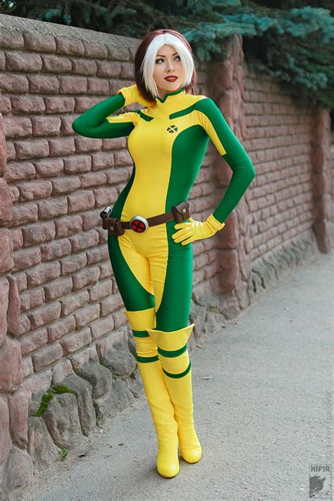 cosplay rogue costume bodysuit xmen cosercosplay