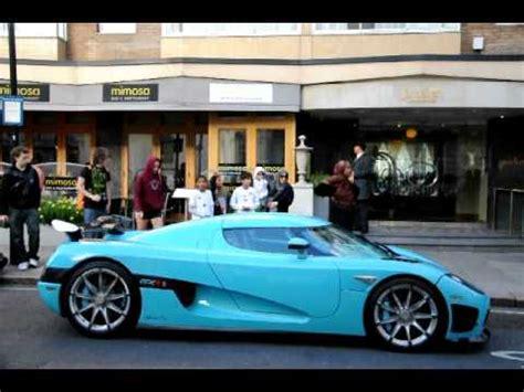 turquoise koenigsegg turquoise koenigsegg ccxr walkaround in london youtube