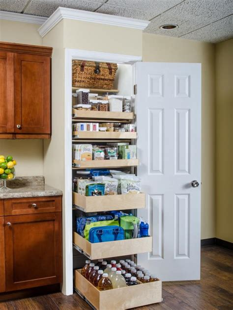sliding kitchen storage 20 best pantry organizers hgtv 2319