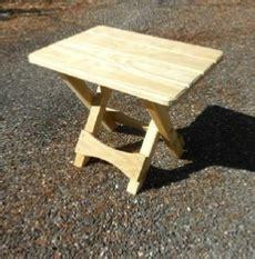 build  folding adirondack table