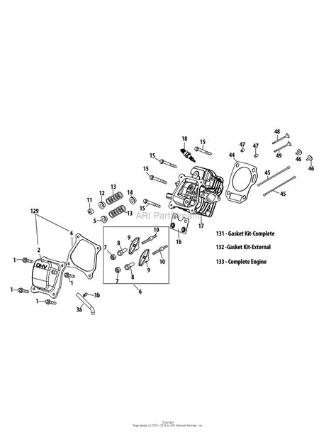 Mtd Sua Engine Parts Diagram For Cylinder Head