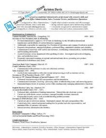 resume format template for job description administrative assistant job description for resume template resume builder