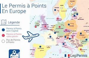 Nombre Points Permis : quels pays ont le permis points en europe legipermis ~ Medecine-chirurgie-esthetiques.com Avis de Voitures