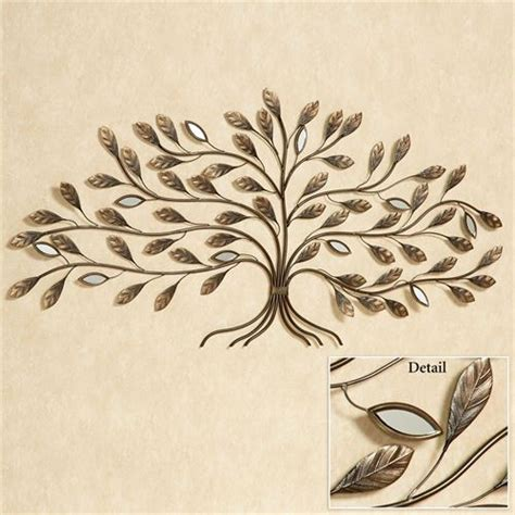 marielle tree metal wall art