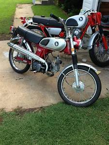 Buy 69 Honda Cl70 Scrambler  Vintage Cafe Racer  Cl Ct On