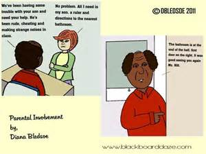 Parent Involvement in Education Cartoons