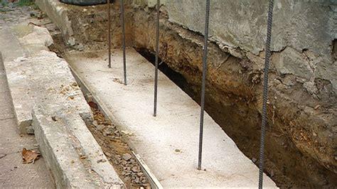 fundament für gartenmauer 01 fundament