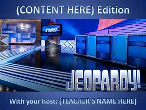 12 Best Free Jeopardy Templates For The Classroom