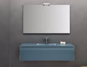 Colored Bathroom Vanities by Infinity In2 Modular Designer Bathroom Vanity In Blue Glass