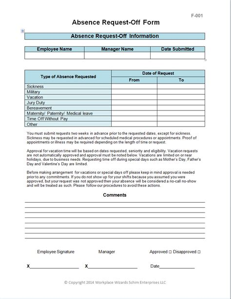restaurant employee write up forms